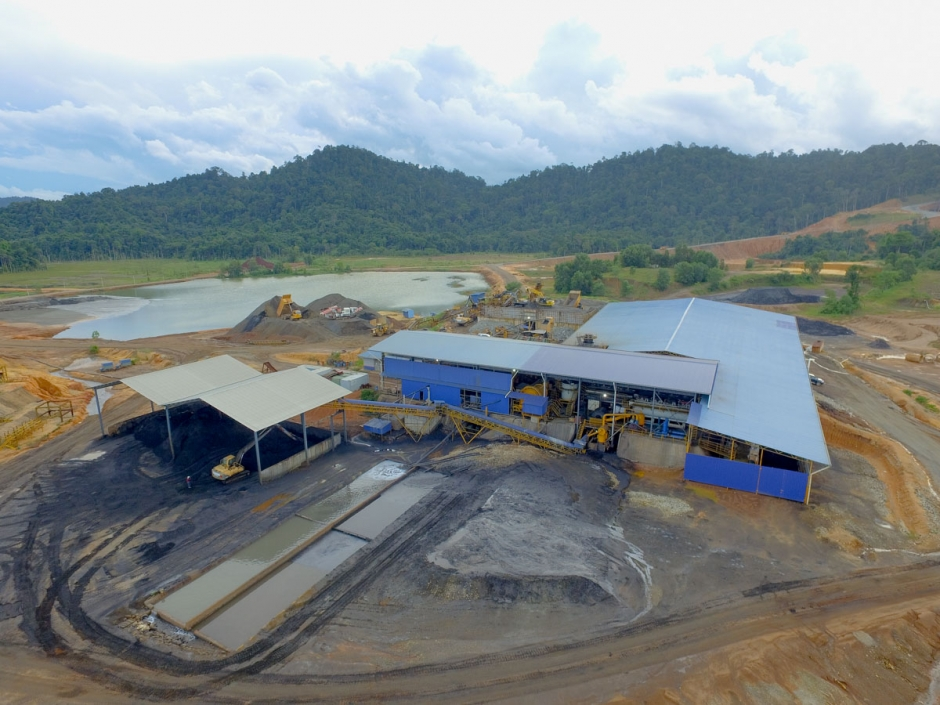 Mining Site Overview